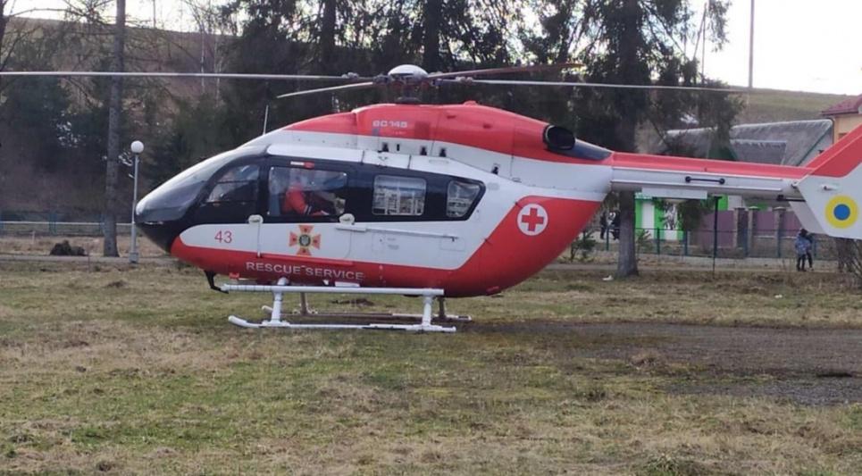 Львовщина стала первым регионом, где выполнена гражданская аеромедицинская эвакуация