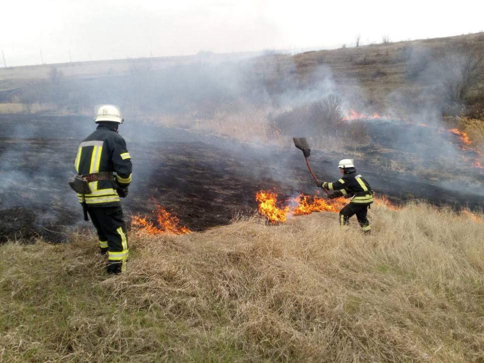 В Україні за добу сталося 195 пожеж на полях та уздовж магістралей, найбільше — на Донеччині