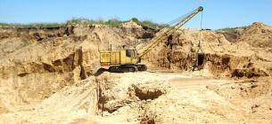 Во Львовской области из-за халатности чиновника незаконно добыли песка на 24 млн.Фото: иллюстративное