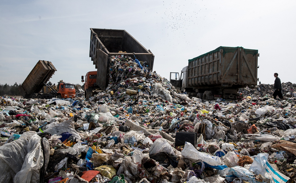В Україні щороку збільшується кількість сміття, яке продукують люди