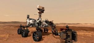 Марсохід Perseverance уперше видобув кисень з атмосфери планети. Фото: NASA