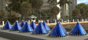 Американці розробили конусні сонячні панелі, які виробляють на 2% більше електроенергії
