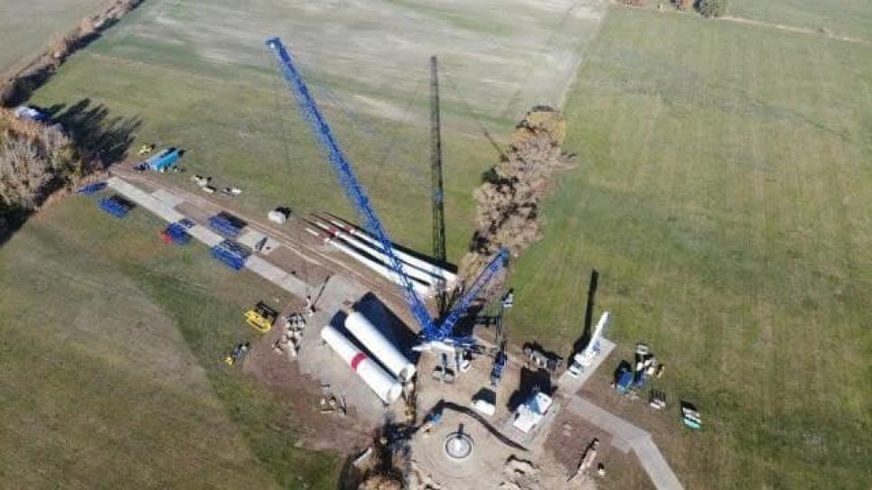 Один із найбільших вітропарків у Європі збудують у Запорізькій області