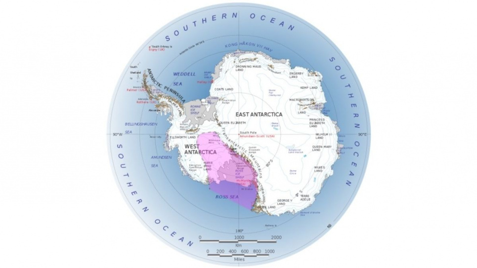 Подо льдами Антарктиды заложена «бомба» для планеты