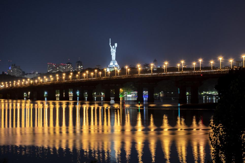 На Днепровской набережной в столице хотят обустроить парк