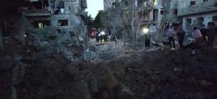 В Ізраїлі одна з ракет бойовиків влучила в резервуар з пальним, все вибухнуло
