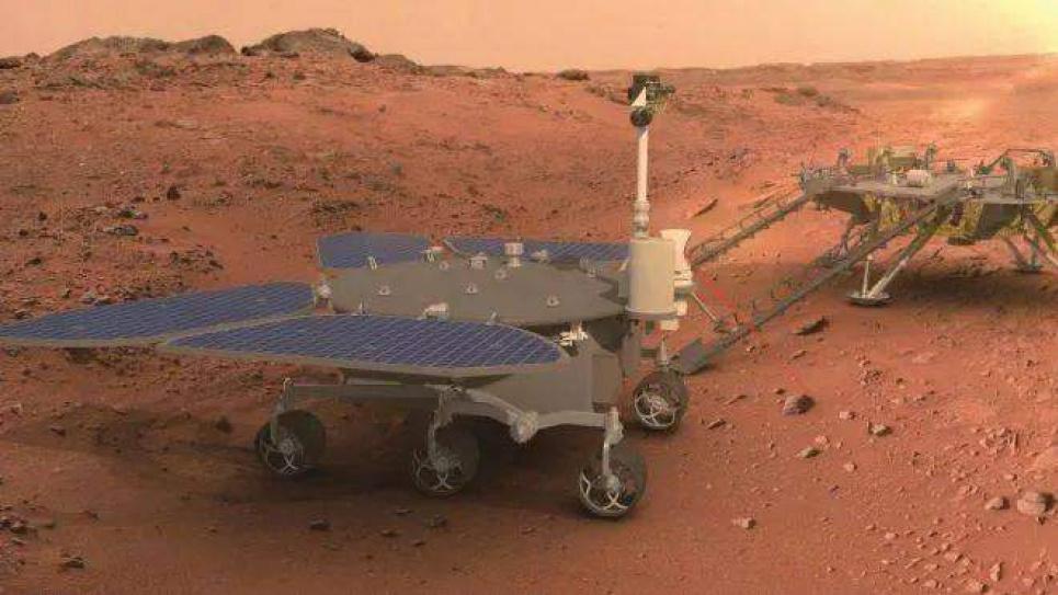 На Марсе уже есть два марсохода: Китай успешно завершил миссию попадания на планету