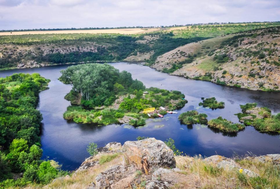 Строительство Ташлыкской ГАЭС затопит Нацпарк «Бугский Гард»