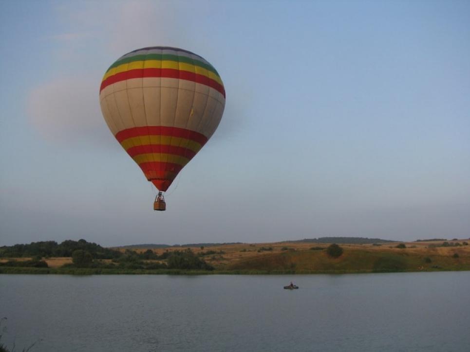 Політ на повітряній кулі. Фото: leofly.com.ua