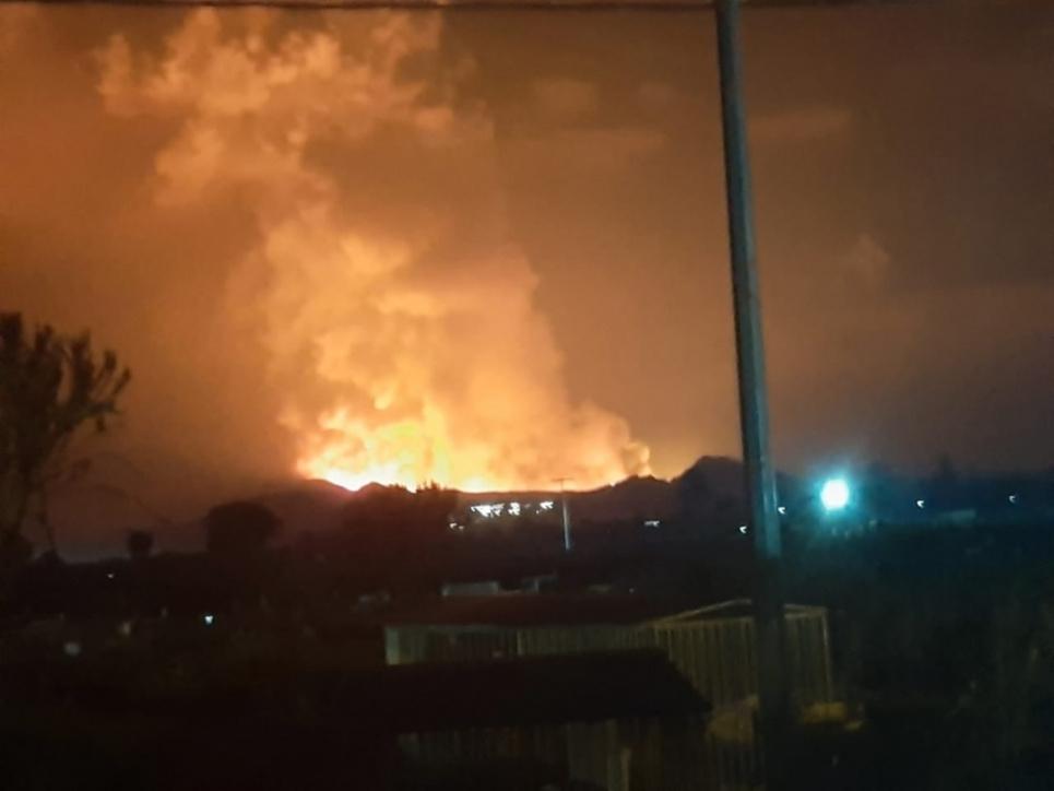 Фото:Юрій Кульпа/Facebook Вулкан у Конго