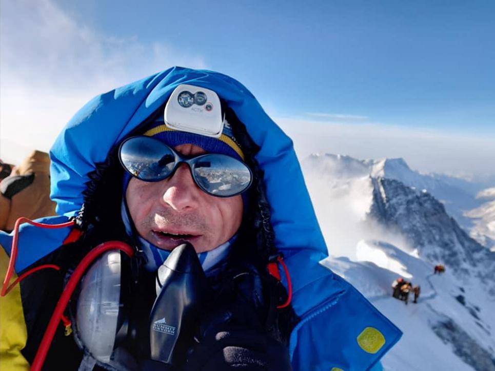Валентин Сипавин покорил Эверест, Эльбрус, Казбек, Монблан, Килиманджаро и другие вершины Фото: Go Peaks