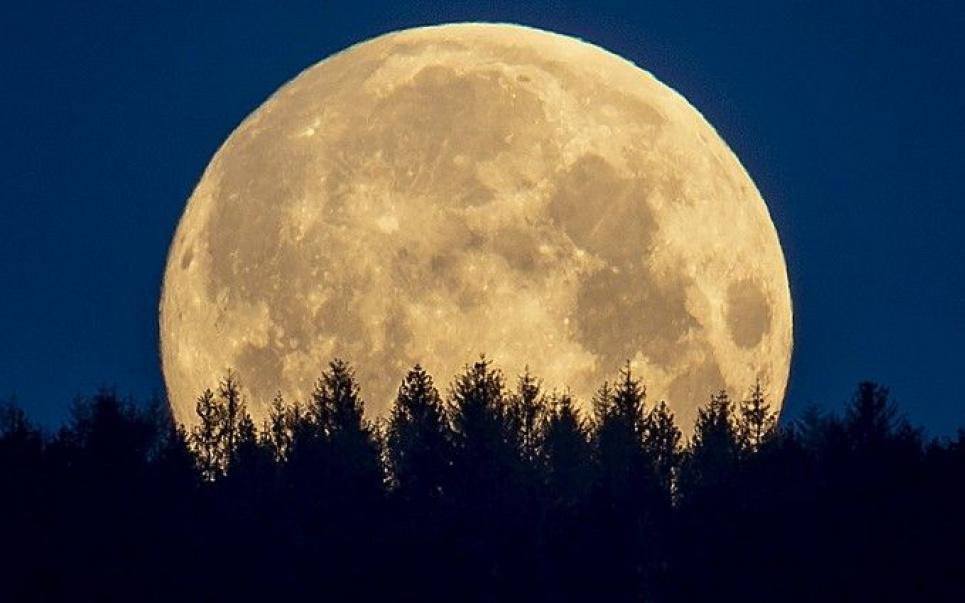 Кровавая Луна и Суперлуние в один день — прямая трансляция редкого явления