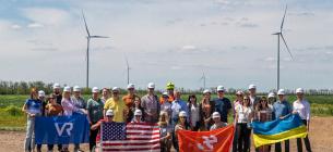 В Одесской области строят вторую очередь мощной Днестровской ветровой электростанции