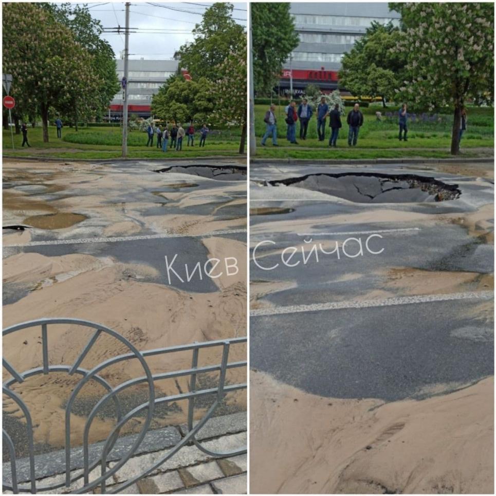 Фото: Типичный Киев Потоп в Киеве
