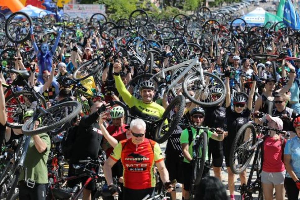 Все буде велосипед! У столиці триває XV Всеукраїнський велодень. Фото: Київрада