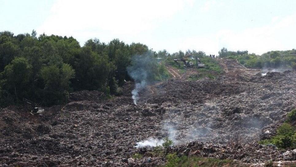 На Грибовицькому полігоні бурять свердловини: до кінця року тут працюватиме станція дегазації