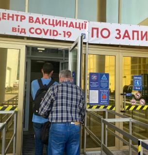 Як у столиці проходить вакцинація проти COVID-19. Фото: Марія Грушева для GreenPost