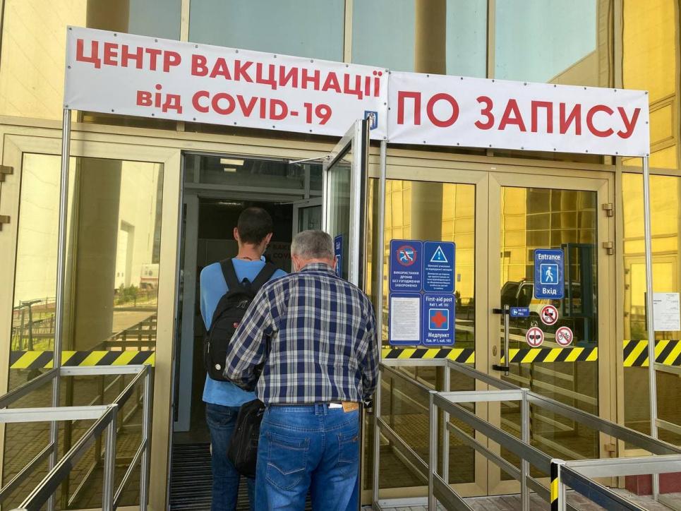 Как в столице проходит вакцинация от COVID-19. Фото: Мария Грушева для GreenPost