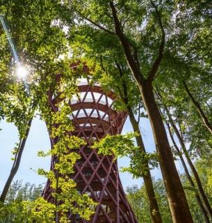 У Данії створили вежу майбутнього: понад 130 метрів над рівнем моря без сходинок