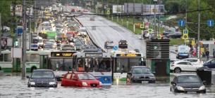 Природні аномалії: у Канаді +47, Москва затоплена