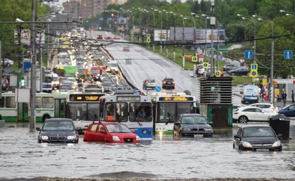 Природные аномалии: в Канаде +47, Москва затоплена
