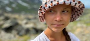 Грета Тунберг подорожує Лапландією та фіксує кліматичне потепління (ФОТО)