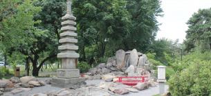 Киевляне хотят сохранить сад камней в парке Киото. Урбанисты их не поддерживают