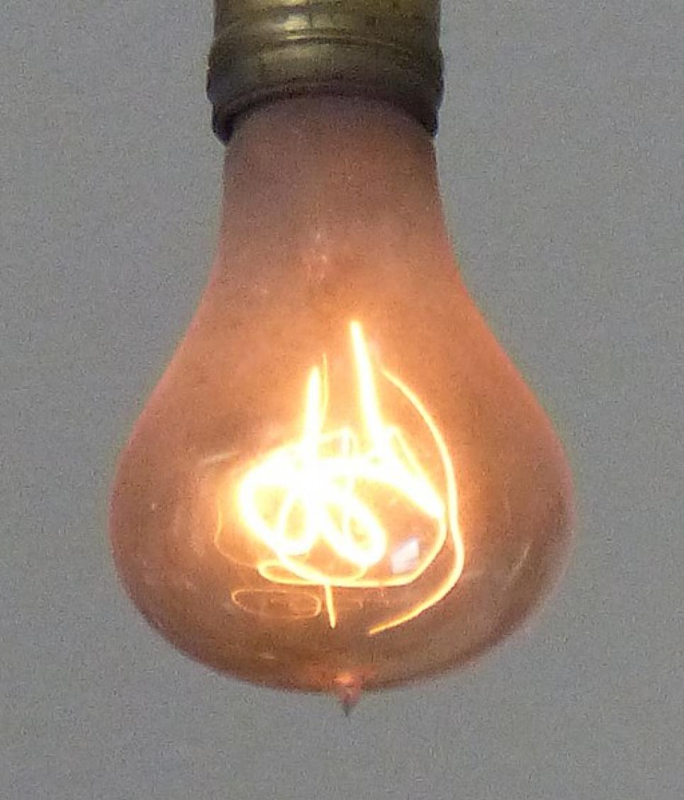 """""""Столітня"""" лампочка. Фото: вікіпедія"""