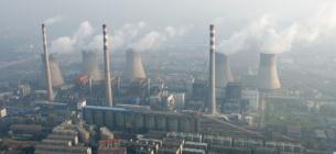 Вугільна електростанцію на околиці Чженчжоу (Китай) із висоти пташиного польоту. Фото: Stringer/Reuters