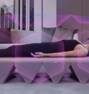 Создали кровать, которая позволяет избавиться от стресса, улучшает физическое и психическое здоровье