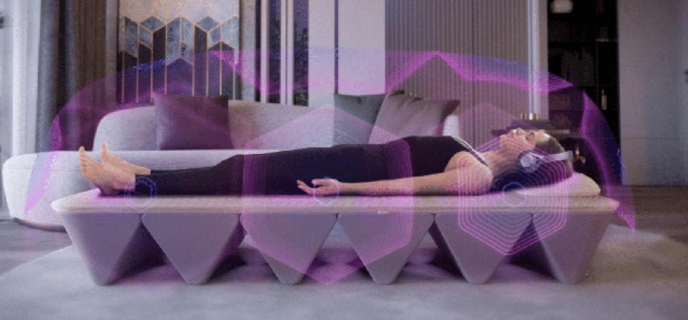 Створили ліжко, яке дає змогу дає змогу позбутися стресу, покращує фізичне та психічне здоров'я