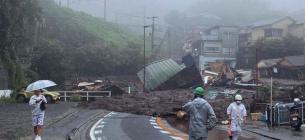 В Японії через сильні зливи рекомендацію евакуюватися отримали 64 тис. осіб