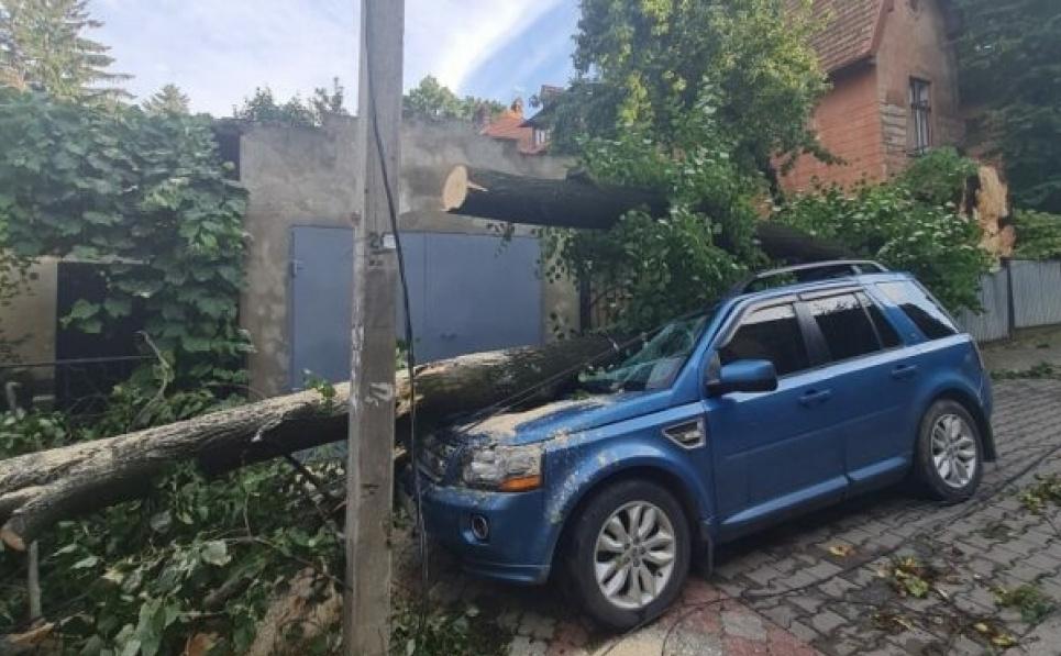 Негода на Буковині: затопило парк і цвинтар