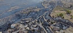 Пожары в Турции возникли на фоне высоких температур