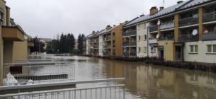 Краков затопило: вода залила больницу