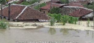 Зливи у Північній Кореї: вода до дахів, дамби — змиті