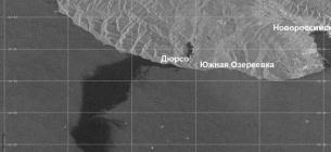 У Чорному морі виникла нафтова пляма площею у 80 квадратних кілометрів