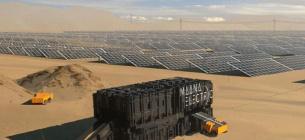 Створено бокси, які перетворюють пісок у сонячні панелі для електростанцій
