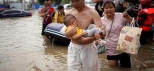 Фото: повінь у Китаї 22 липня