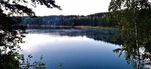 Велике Голубе озеро, або Перше. Фото: Олександр Борсук
