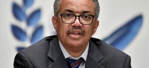 Генеральний директор ВООЗ Тедрос Адханом Гебреїсус. Фото: Reuters