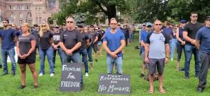Протест в Торонто